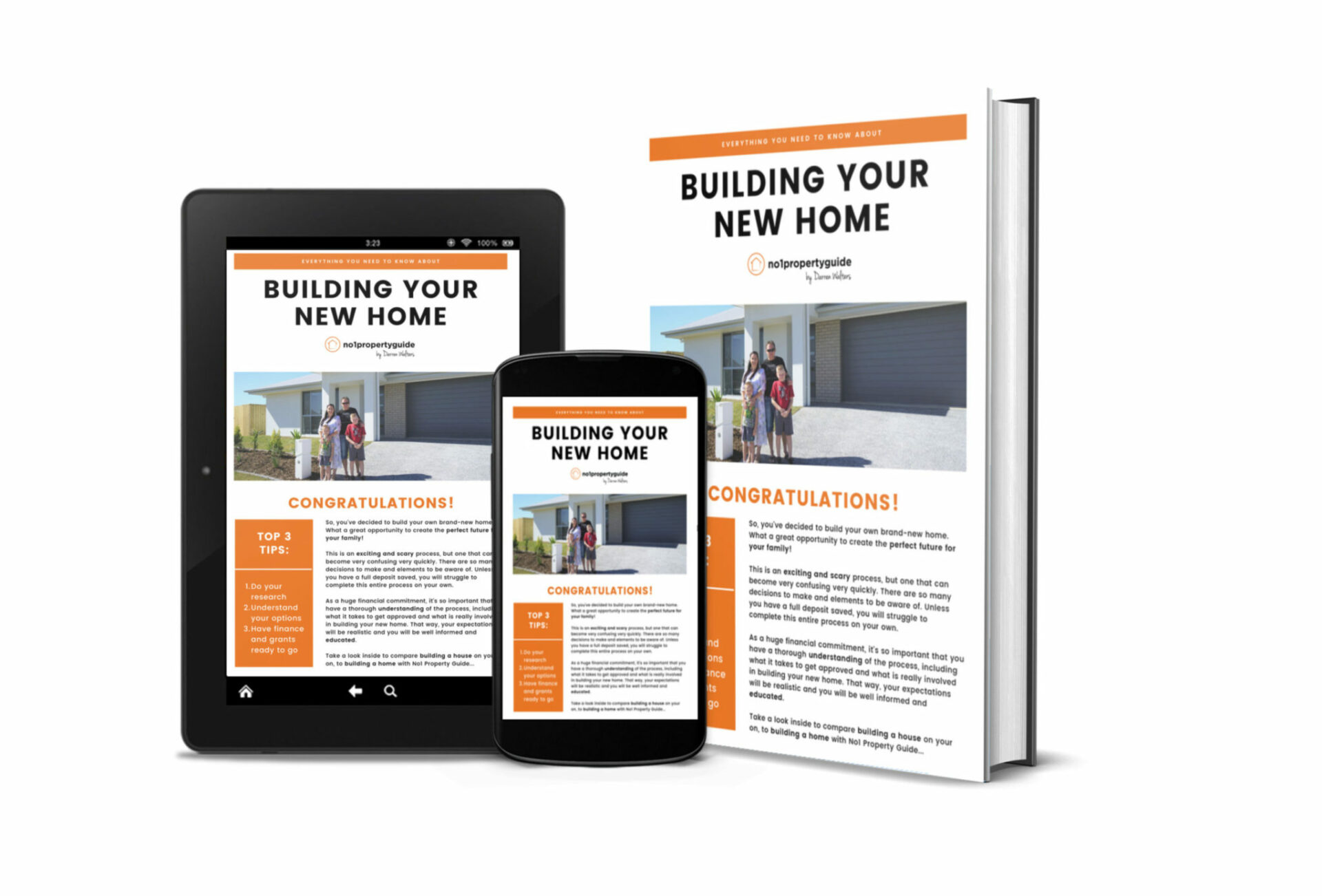 First Home Buyers Guide | Free Download | No1 Property Guide